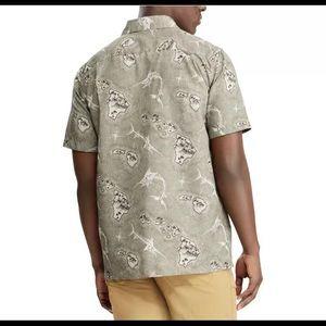 Chaps Shirts - Chaps Mens Performance Woven Button Down Shirt,